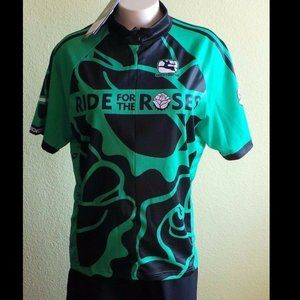 NWT Giordana Pro Bike Jersey Ride for Roses 2010 X
